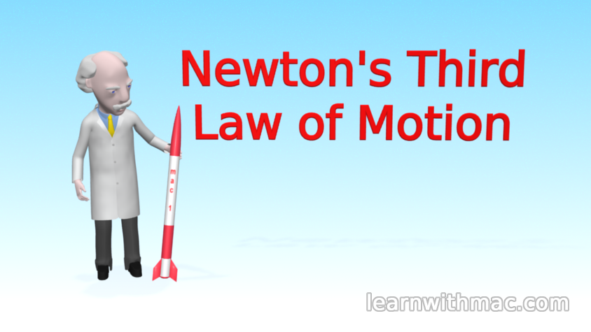 understanding sir isaac newtons third law of action and reaction